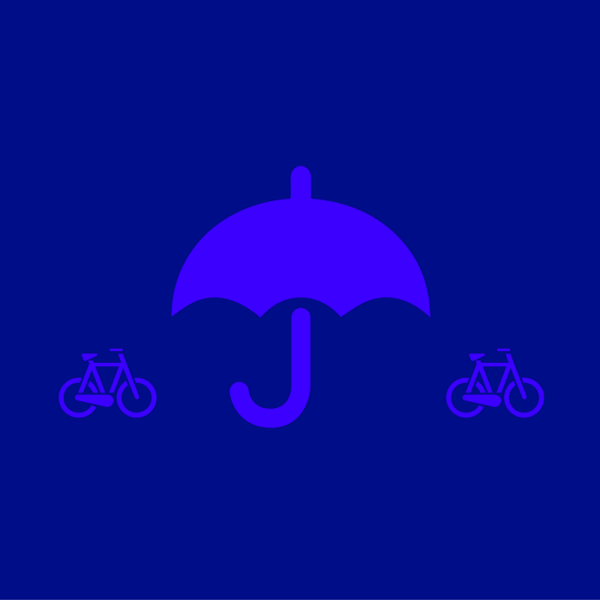 Tips for cycling in rain