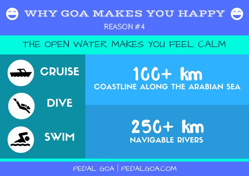 Why Goa makes you happy :) - Open water: cruise, scuba diving, swimming. Goa, India | Pedal Goa