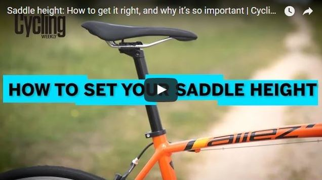 Knee pain from biking + How to adjust bike seat: How to set your saddle height so you have the right bike fit