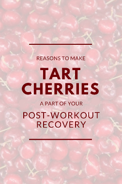Tart cherry juice: Where to buy montmorency tart cherry juice for recipes for workout recovery benefits