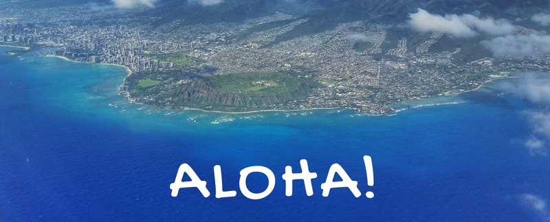 Oahu: Honolulu flight into Oahu Airport, Hawaii. ALOHA! E komo mai!