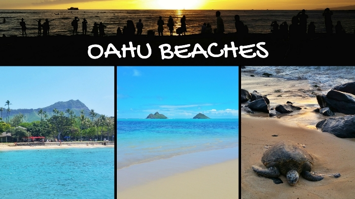 Oahu: Beaches in Oahu with map and list, Hawaii