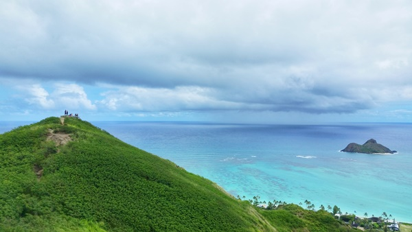 Oahu: Lanikai Pillbox Hike is an Oahu hike in Kailua, Hawaii
