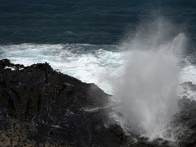 Things to do in Oahu: Halona blowhole! Hawaii