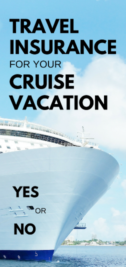 Cruise insurance: Should you buy cruise travel insurance for your trip on a Carnival Cruise or Royal Caribbean cruise?