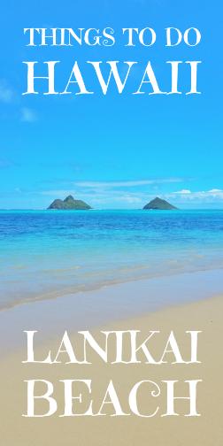 Lanikai Beach, Oahu beaches, Hawaii