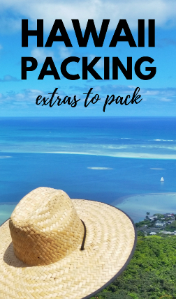 What to pack for Hawaii vacation and put on your Hawaii packing list, whether it's Oahu, Maui, Kauai, or the Big Island!