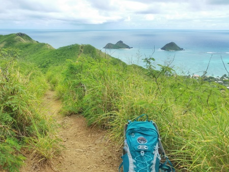 Hawaii packing list: Bring a day hiking backpack for Oahu hikes like the Lanikai Pillbox Hike!