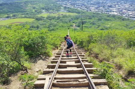 Hawaii packing list: Pack hiking poles for the Koko Head hike!