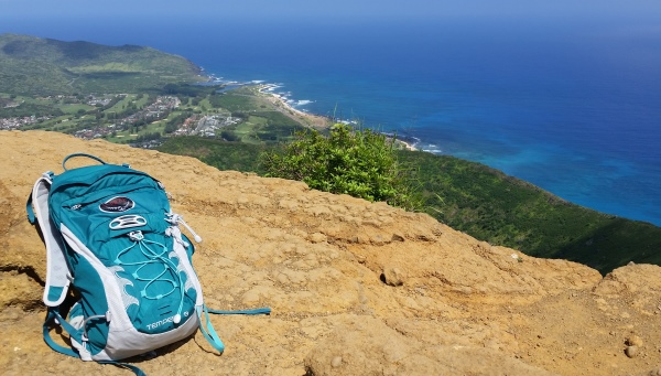 How to get to Koko Head Trail by bus: Make sure to pack food and water in your hiking backpack because it'll be awhile before you get back to your hotel!