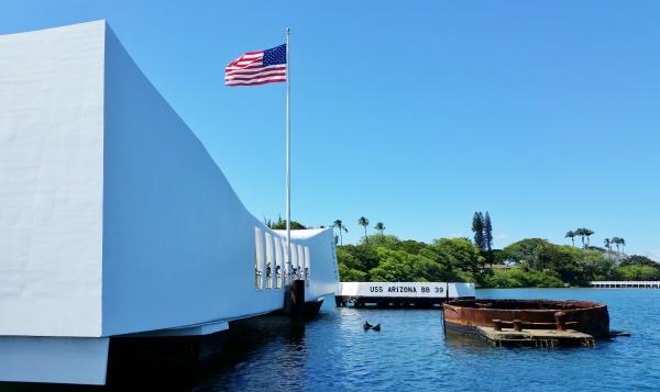 Keaiwa Heiau State Park: Pearl Harbor with USS Arizona Memorial is near this Hawaii state park on Oahu