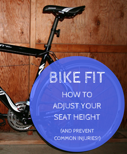 Knee pain from biking + How to adjust bike seat: How to adjust your bike seat height and prevent common cycling injuries and knee pain
