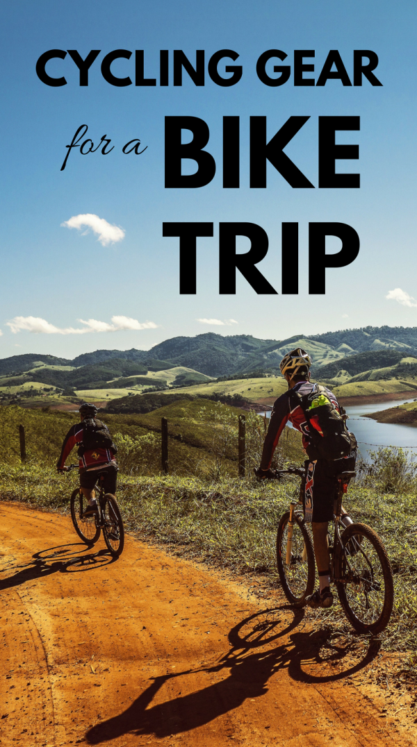 Bike touring gear: Touring bike, tires, gadgets, accessories, and clothes for your bicycle tour!