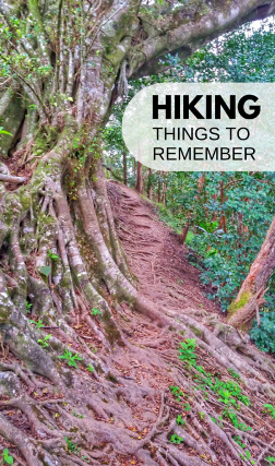 Hiking for beginners: Hiking tips to remember on the trails