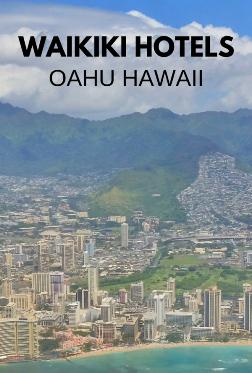 waikiki hotels map list oahu hawaii oahu hotels - Oahu Hotels And Resorts