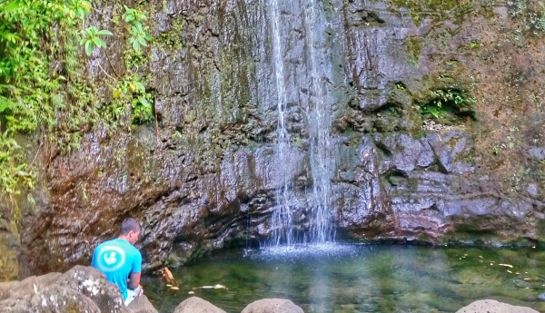 Waterfall hikes, Oahu: Manoa Falls, Hawaii