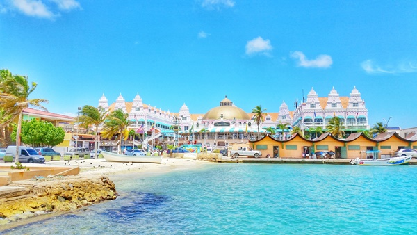 Aruba cruise: Marina near downtown Oranjestad things to do, southern Caribbean cruise