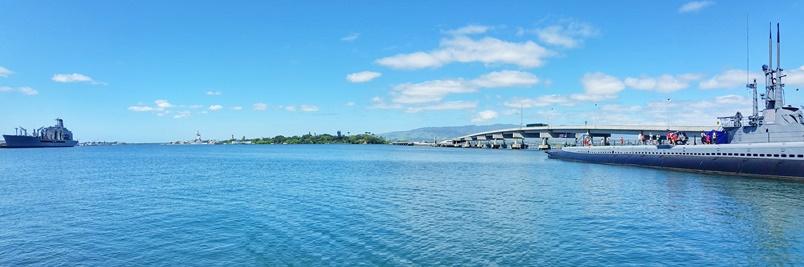 Pearl Harbor Hawaii at Pearl Harbor Historic Sites, Oahu