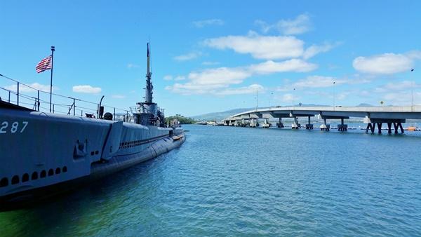 Pearl Harbor Hawaii: USS Bowfin Submarine Museum at Pearl Harbor Historic Sites, Oahu