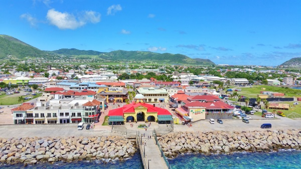 St Kitts cruise: Port Zante on a Caribbean cruise to St Kitts