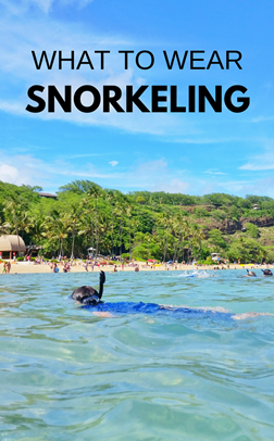 What to wear when snorkeling: Best snorkel gear to add to your beach packing list!