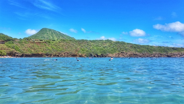What to wear when snorkeling: Hanauma Bay in Oahu, Hawaii