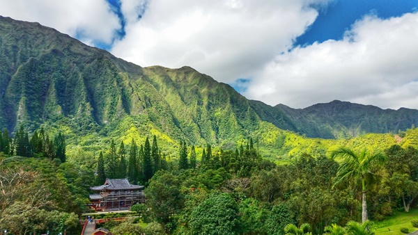 East Oahu: Byodo-In Temple, Hawaii