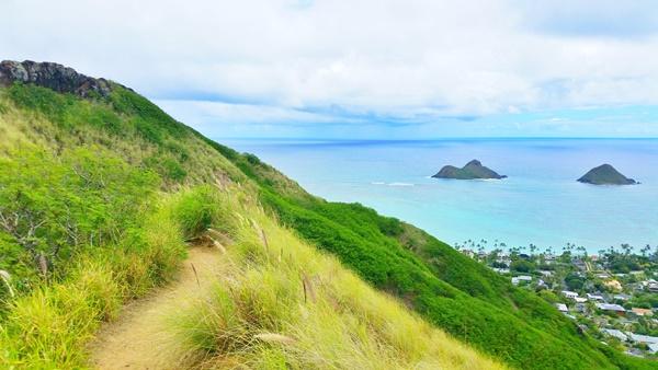 East Oahu: Lanikai Pillbox Hike, Hawaii
