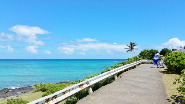 How to get to Lanikai Beach by bus: Directions walking from Kailua, Oahu, Hawaii
