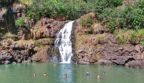 North Shore, Oahu: Waimea Falls Hike, Hawaii