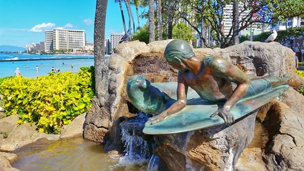 Waikiki Beach: Waikiki Historic Trail, Oahu, Hawaii