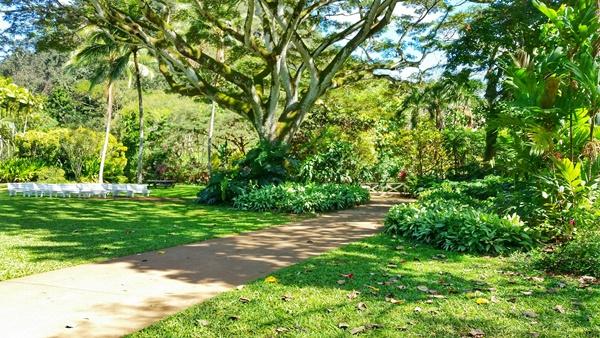 Waimea Valley botanical garden, North Shore, Oahu, Hawaii