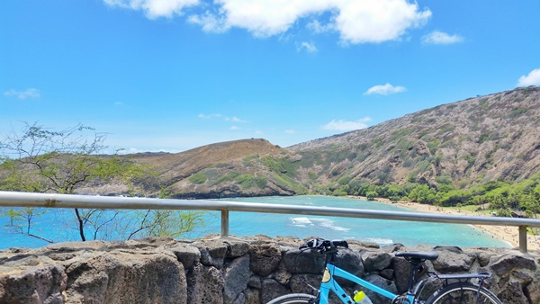 Biking Oahu: Hanauma Bay snorkeling - bike and snorkel tour, Hawaii