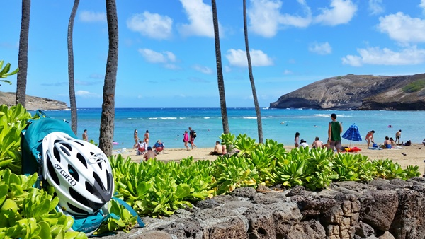 Biking Oahu: What to pack for Hawaii - what to bring biking in Hawaii