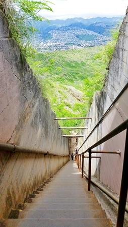 Diamond Head Hike: Best Oahu hikes with stairs, Hawaii