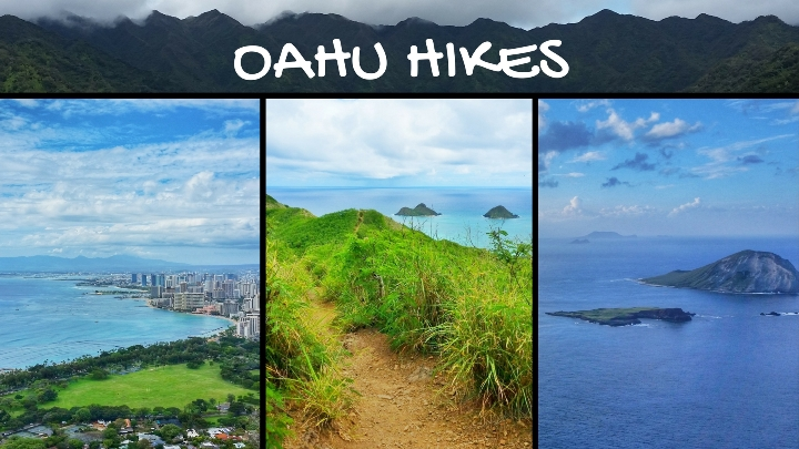 Oahu hikes with the best views: Oahu Hikes Map, Hawaii