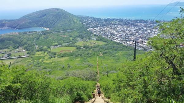 Oahu Hikes, Oahu travel guide: Koko Head Hike, Oahu hikes pocket guide, Hawaii