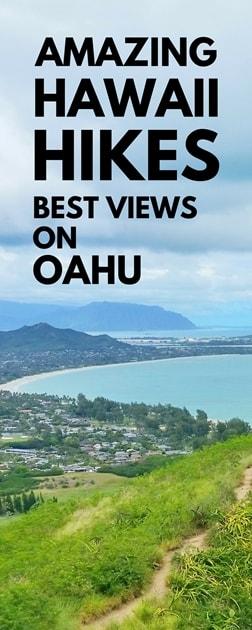 Oahu Travel Guide: Best short hikes on Oahu. Amazing scenic views in Oahu, Hawaii