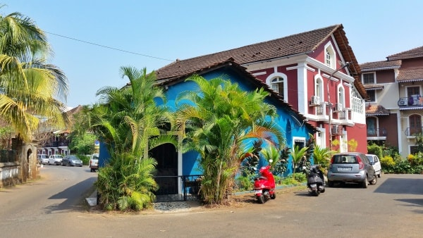 Panjim Inn, Heritage hotel in Goa. Best places to stay in Central Goa: Fontainhas, Panjim, Latin Quarter of India