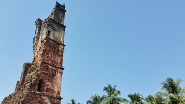St. Augustine Ruins - Old Goa, Central Goa: Best places to visit in Goa in one week, India