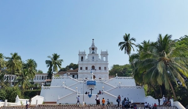 Famous white church - Panjim, Our Lady of the Immaculate Conception Church, Central Goa: Best places to visit in Goa in one week, India