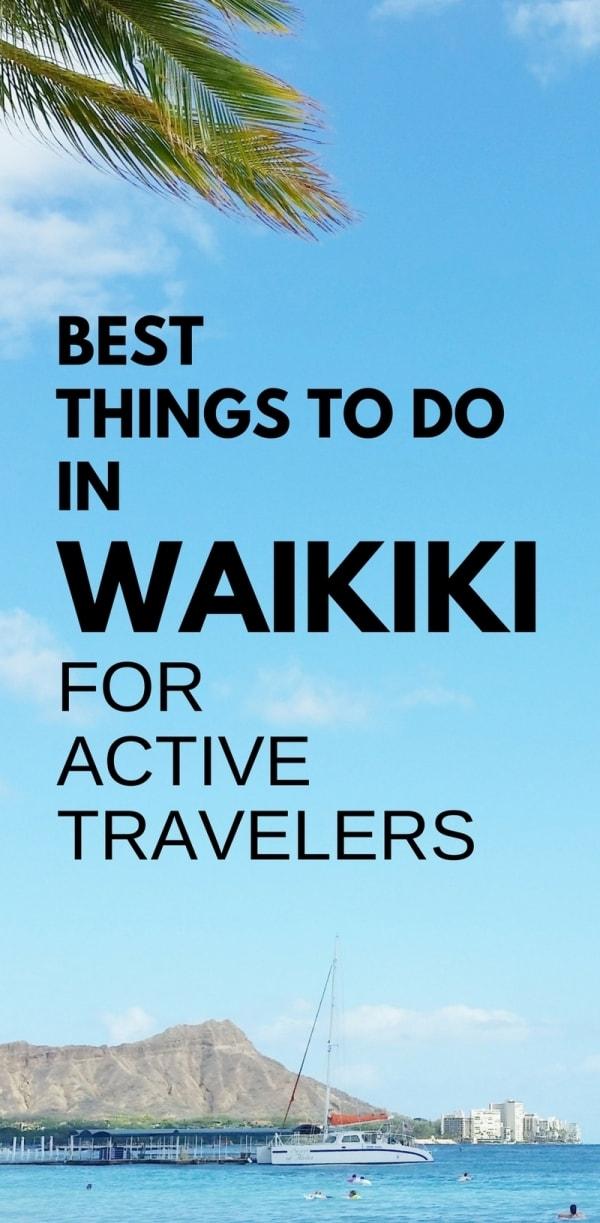 Best things to do in Waikiki Beach in one week. Tours. Cheap, free activities. Waikiki Activities Travel Guide, Oahu, Hawaii