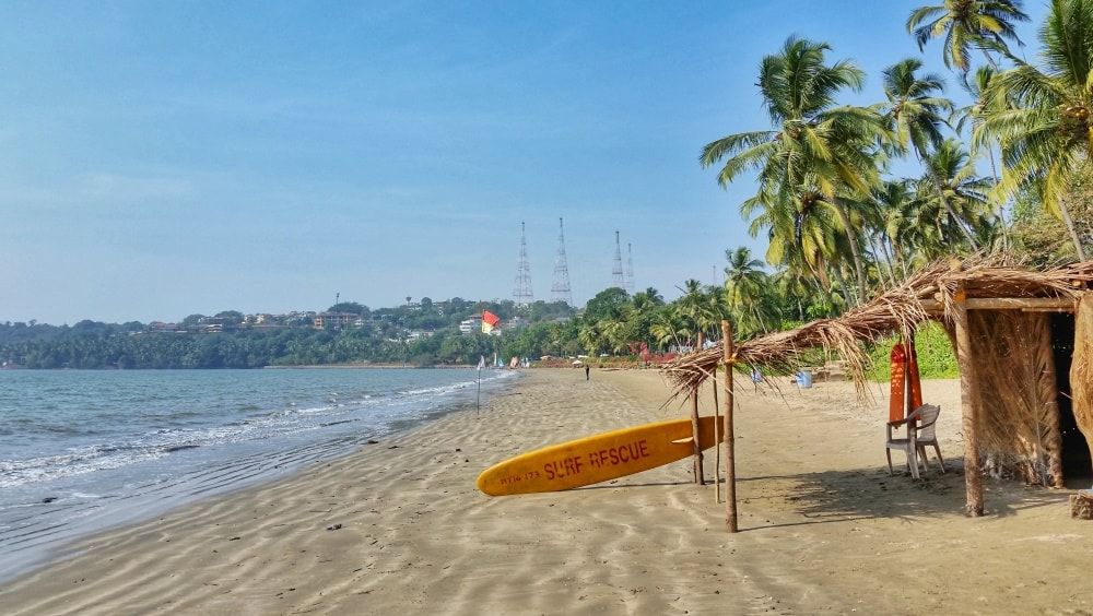 Cycling Goa: Near Bambolim Beach, India