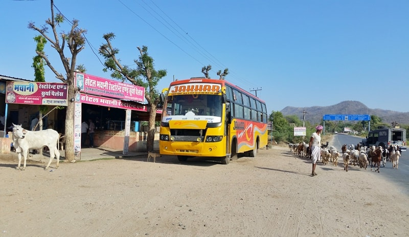 Udaipur to Jodhpur by sleeper bus: Getting to Jodhpur. Itinerary for Rajasthan, India