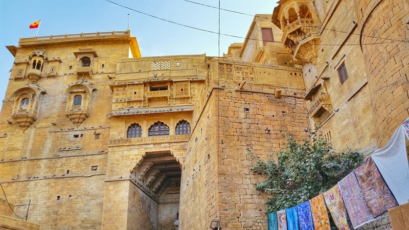 Jaisalmer itinerary: Best places to visit in Jaisalmer in 3 days. Jaisalmer fort. Rajasthan, India
