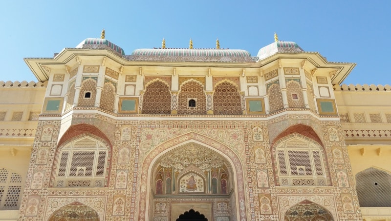 Forts in Jaipur in one day: Amber Palace. Rajasthan forts, India