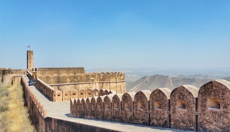 Forts in Jaipur in one day: Jaigarh Fort. Rajasthan forts, India