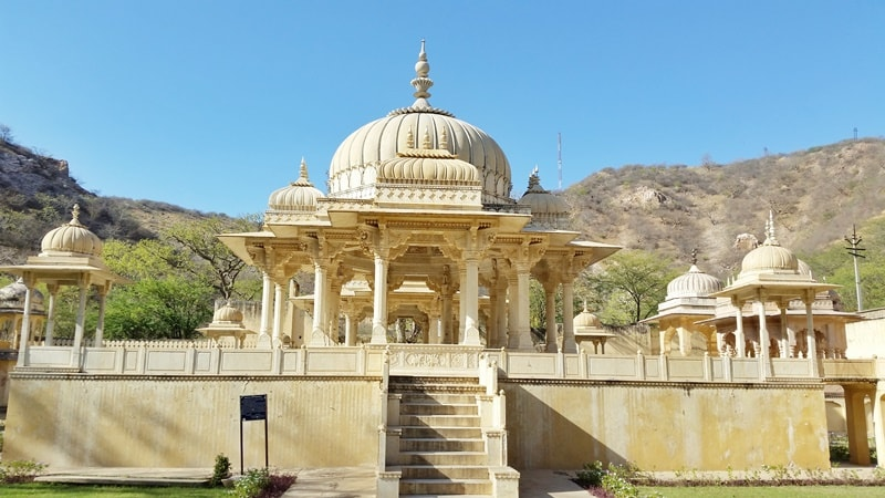 Jaipur itinerary, one day: Royal cenotaphs, royal family of Rajasthan. Best places to visit in Jaipur, Rajasthan, India.