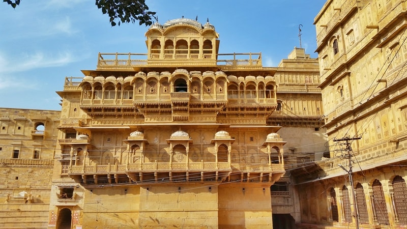 Jaisalmer itinerary, 4 days: Jaisalmer Fort Palace museum. Best places to visit in Jaisalmer, Rajasthan, India.
