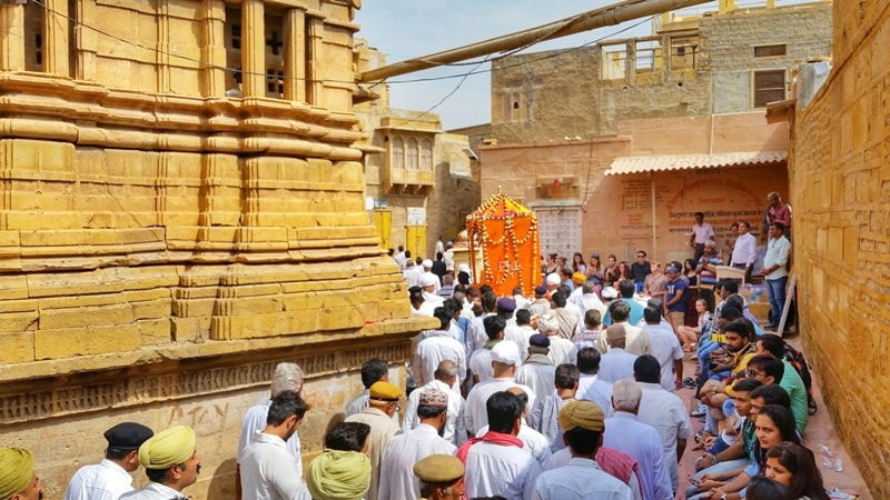 Jaisalmer itinerary, 4 days: Jaisalmer royal family death funeral at fort. Best places to visit in Jaisalmer, Rajasthan, India.
